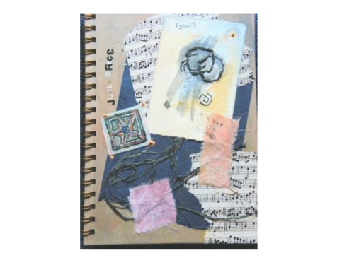 Writing journal front cover ideas