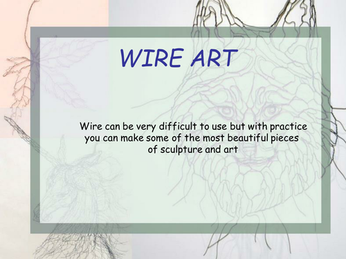 Wirework and Line Drawing project.