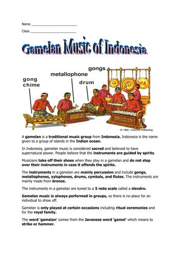 Indonesian Gamelan Performance Amazed the United States ...