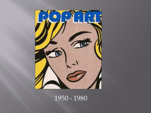 Pop art introduction