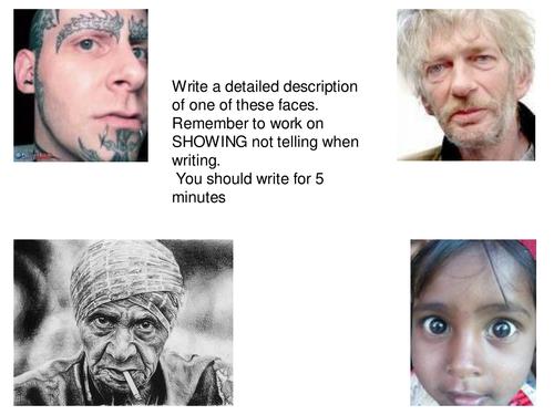 Describing character and semantic field