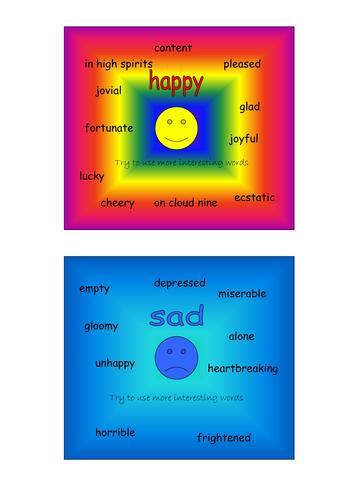 Alternative word squares