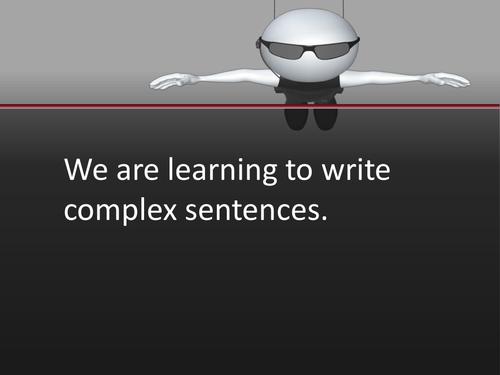 Complex sentence work