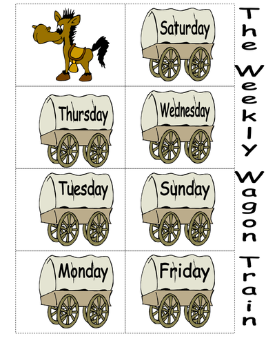 The Weekly Wagon Train