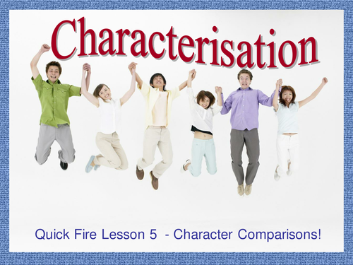 Characterization and Comparisons