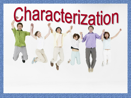 Characterization - Clothing Choices