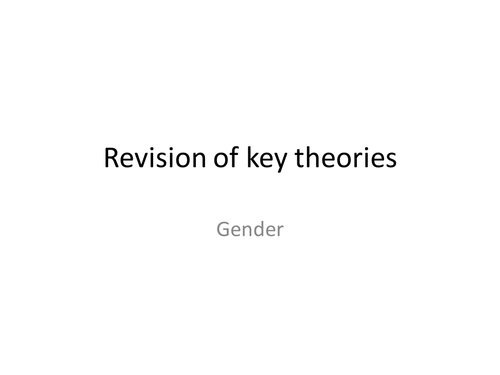 Language and Gender review