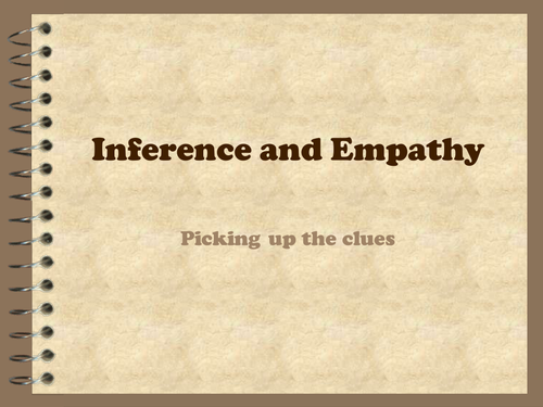 Reading skills: inference and empathy