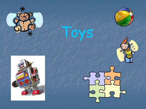 Describing toys PowerPoint