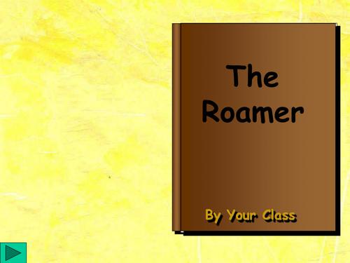 Roamer glossary PowerPoint