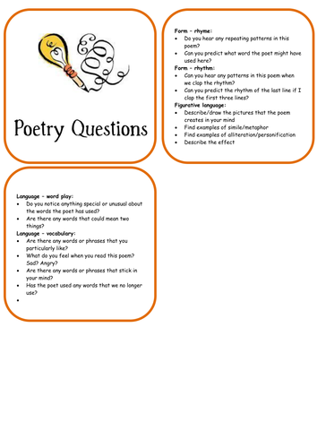 Guided Reading Question Booklets.