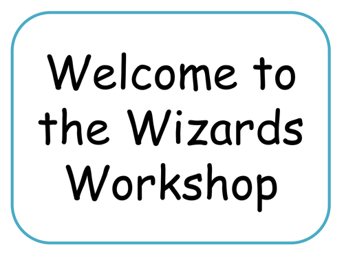 Wizards topic resources