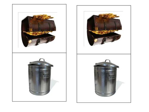 Treasure Chest and Trash Bin Assessment