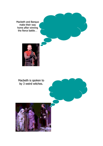 Macbeth Thought Bubbles