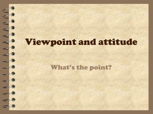 Exploring viewpoint/close analysis of language