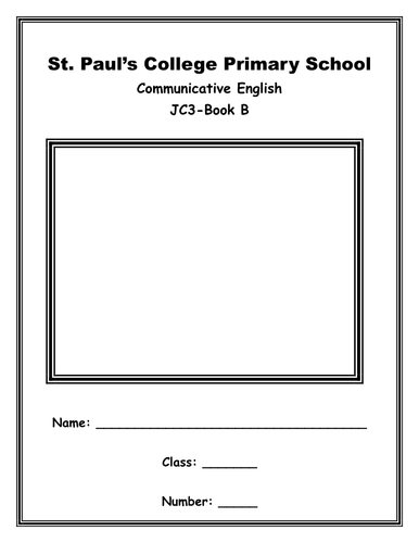 Grade 3 Revision Book ESL