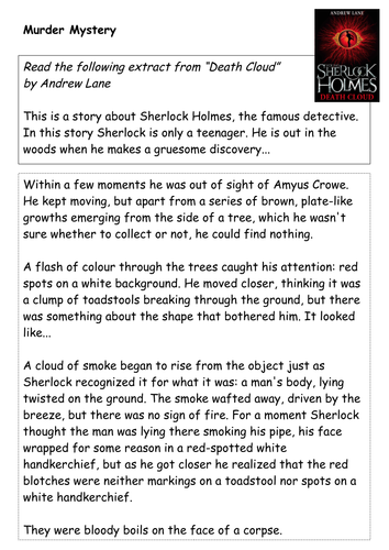 Young Sherlock Holmes Lesson