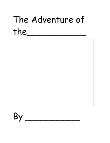 Write Your Own adventure!