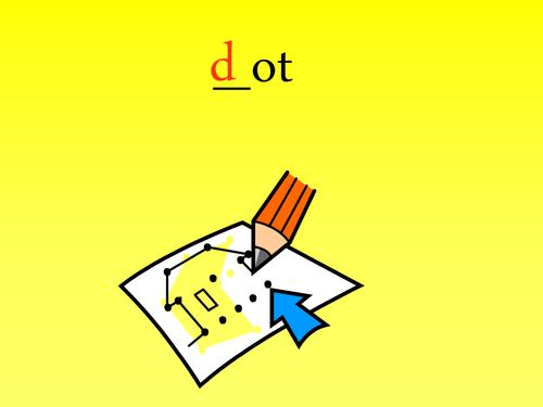 Initial Sounds (d; g; o)