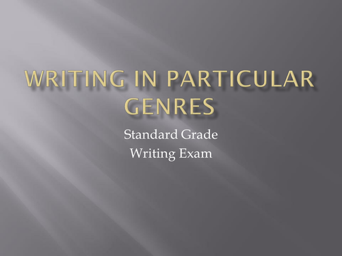 discursive essay topics for standard grade english The goal of a discursive essay is to present a balanced and the difference between discursive & argumentative standard grade bitesize discursive.