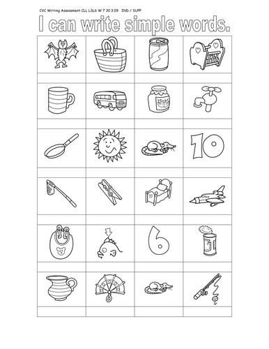 Printables Cvc Worksheets cvc worksheets by filly odge teaching resources tes