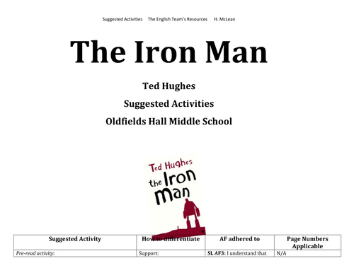 Iron Man suggested activities