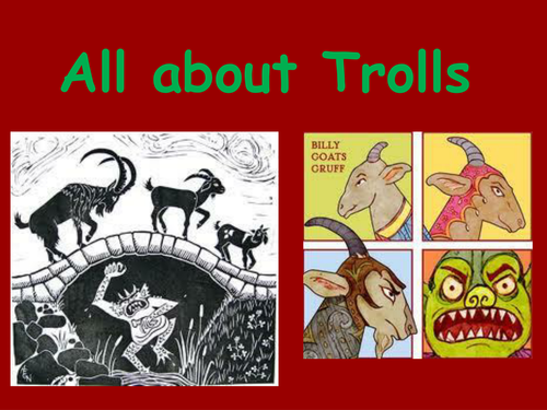 All about Trolls PowerPoint