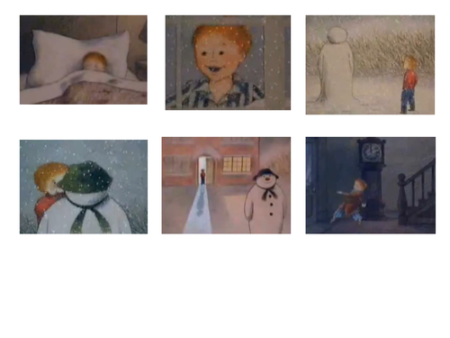 """""""The Snowman"""" Images to Sort"""