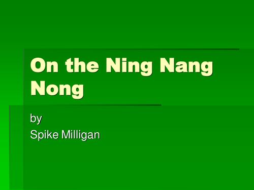 On the Ning Nang Nong