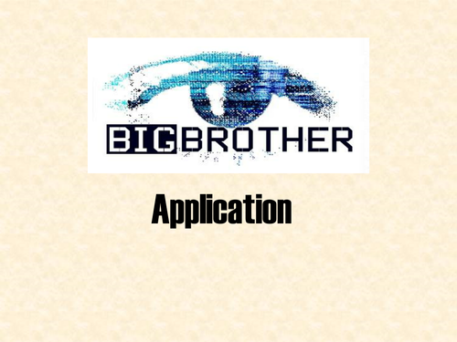 Big Brother Introduction Quiz