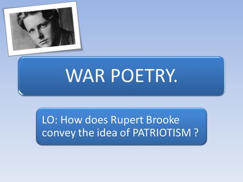 If I should die... Rupert Brooke