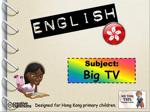 Team 'Big TV' Description Game