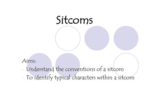The Sitcom genre