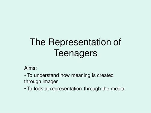 Media representation of teenagers