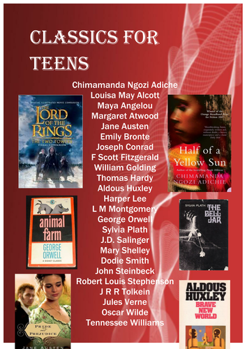 Recommended Reads for Young Adults