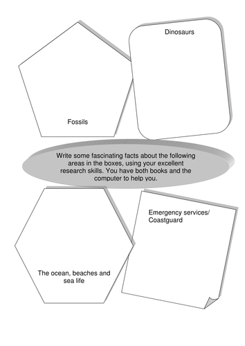 Science Facts Graphic Organizer