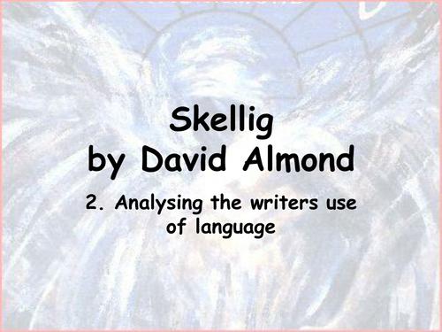 Skellig- analysing writer's language