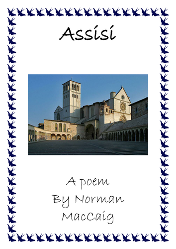 Assisi poetry unit