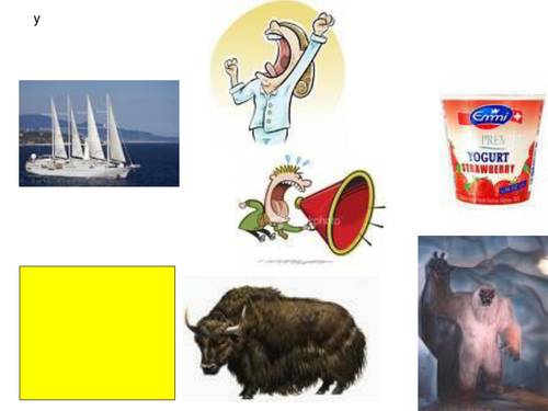 Pictures for phonic lessons-