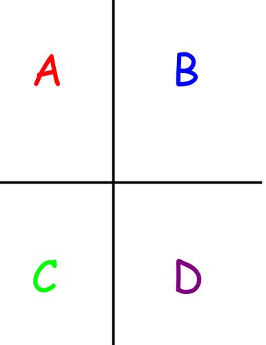 A-B-C-D ANSWER CARDS