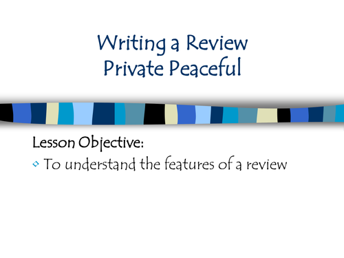 excellent ideas for creating private peaceful essay glossopdale english 9 private peaceful