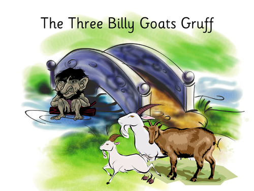 Three Billy Goats Gruff playscript by Celia77 | Teaching Resources