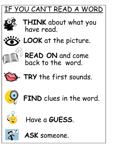 IF YOU CAN'T READ A WORD