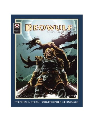 "First lesson for Robert Nye's ""Beowulf"""