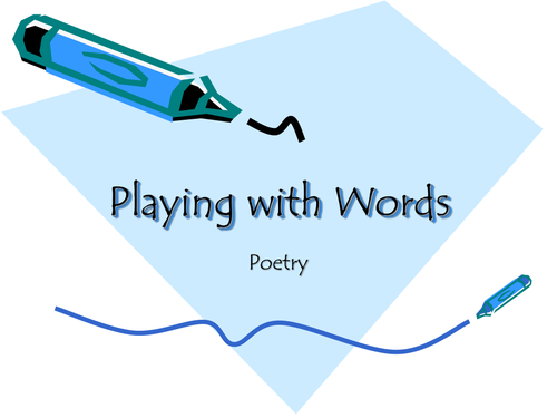 Poetry play