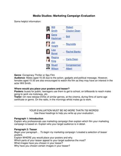 MArketing campaign evaluation guide