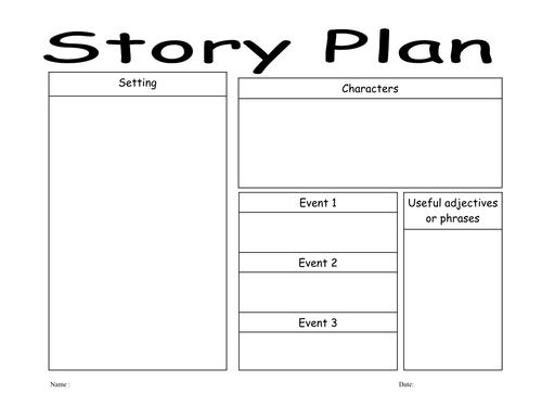Story planners