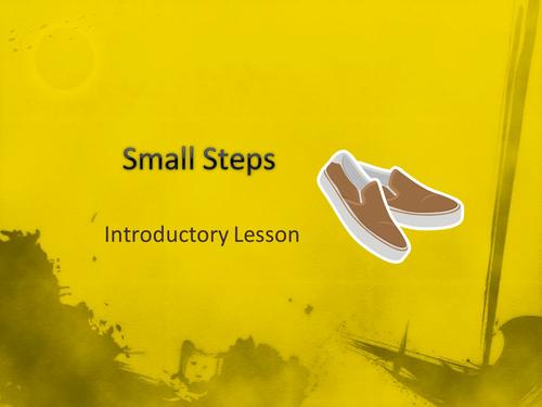 Small Steps Novel Study