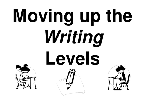 How to Move Up in Reading / writing