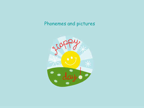 Phonemes with pictures